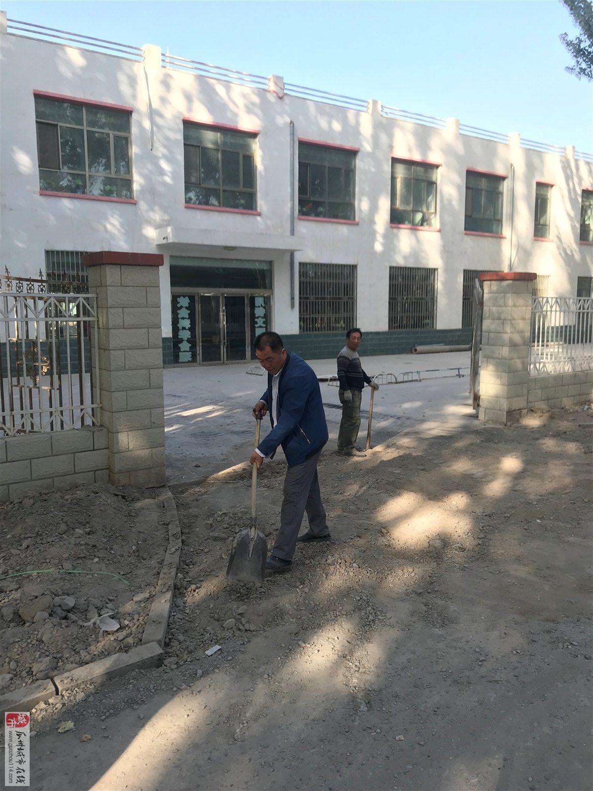 瓜州三道沟别人过中秋节这个老师默默无闻的过劳动节