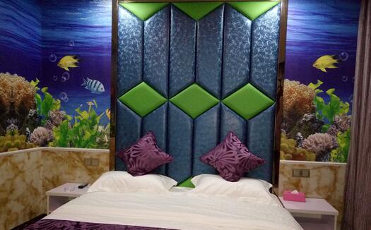 大自然主题大床房