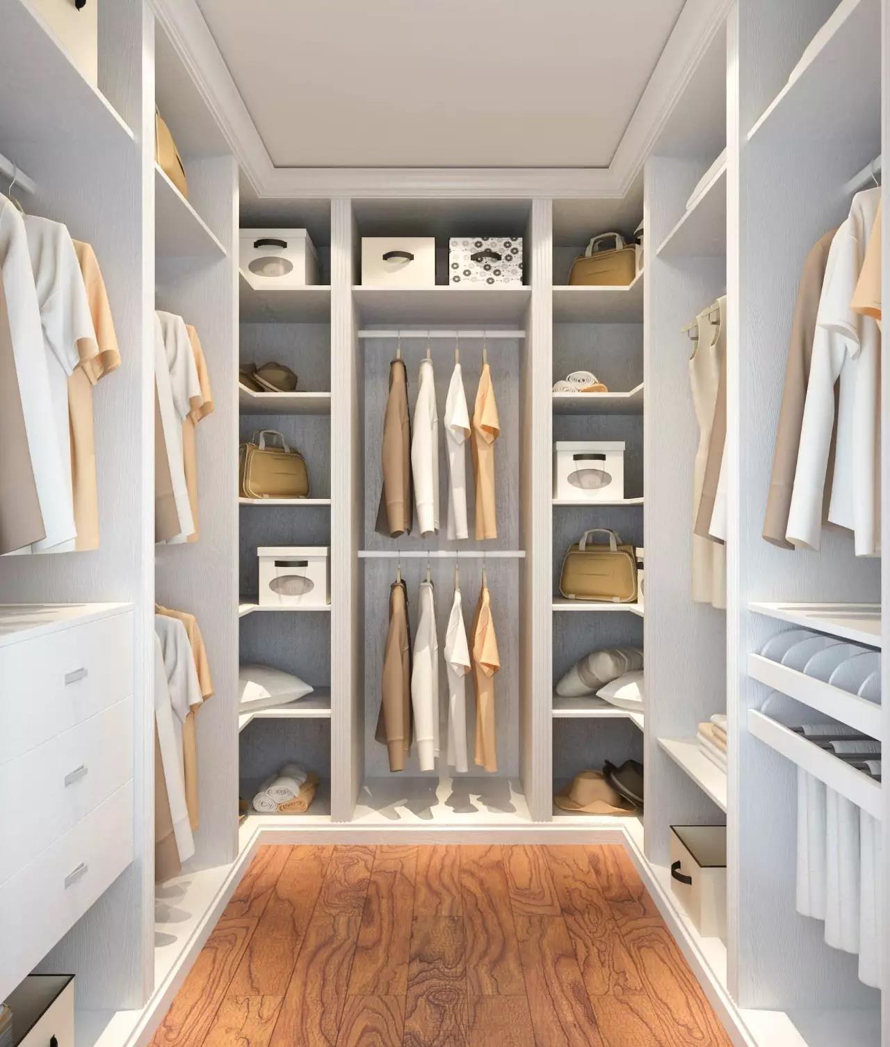 收纳篮也是常见的衣柜五金配件