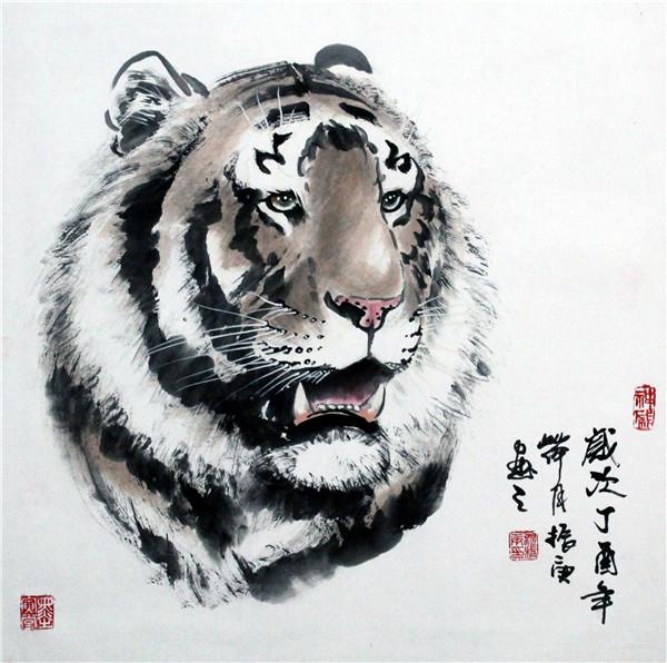 2017��意虎(斗方)