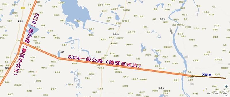 霍邱县内的这两条一级公路何时能动工啊?