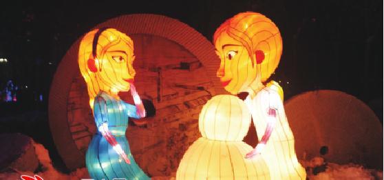 乌鲁木齐市水磨沟公园等六处花灯每晚点亮两小时
