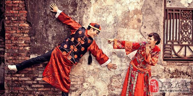 拍中式古装婚纱照的注意事项