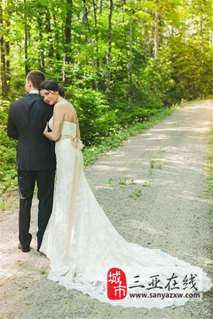 浪漫的国外婚纱照片欣赏