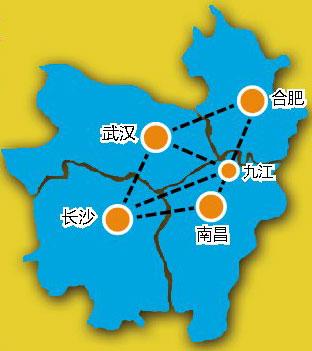 南昌武汉长沙合肥放大招 建90分钟互达高铁网