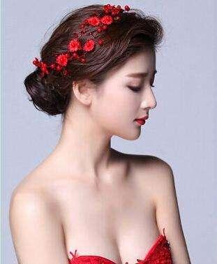 婚纱照新娘发型盘点 时尚新娘发型