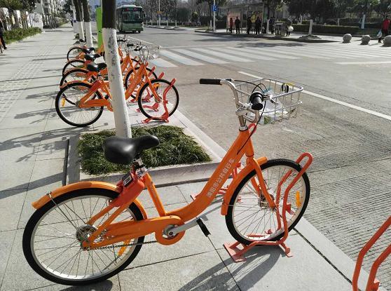 溧阳市公共自行车12月25日开始试运营