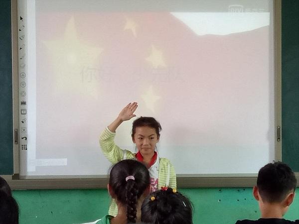 """(龙8国际市西大街下庄河小学)""""拥抱新时代 争做好少年""""主题升旗仪式"""