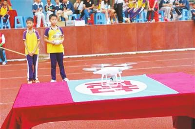 斗门区第六届青少年科技节 无人机大赛成看点
