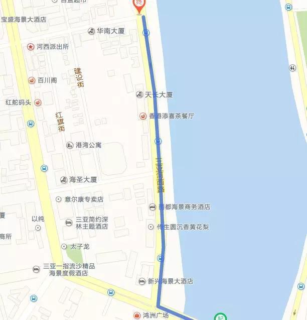 通知:端午节三亚这个路段将进行交通管制