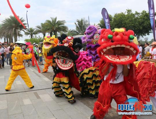 琼海博鳌举行2018端阳旅游文化节