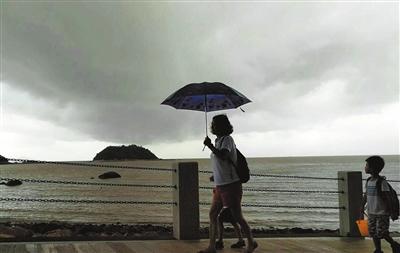 昨日横琴芒洲站雨量最大101.9毫米 今日有暴雨雷暴还有大风