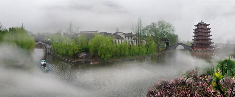肥西旅游推荐:水乡古镇三河