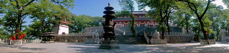 肥西旅游景点推荐:紫蓬山国家森林公园