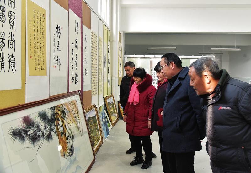城固举办纪念改革开放40周年主题书画展