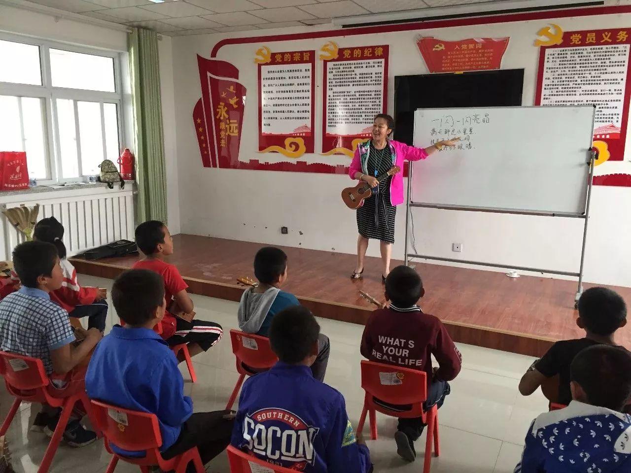 音乐教室公益项目落户勉县墓下小学