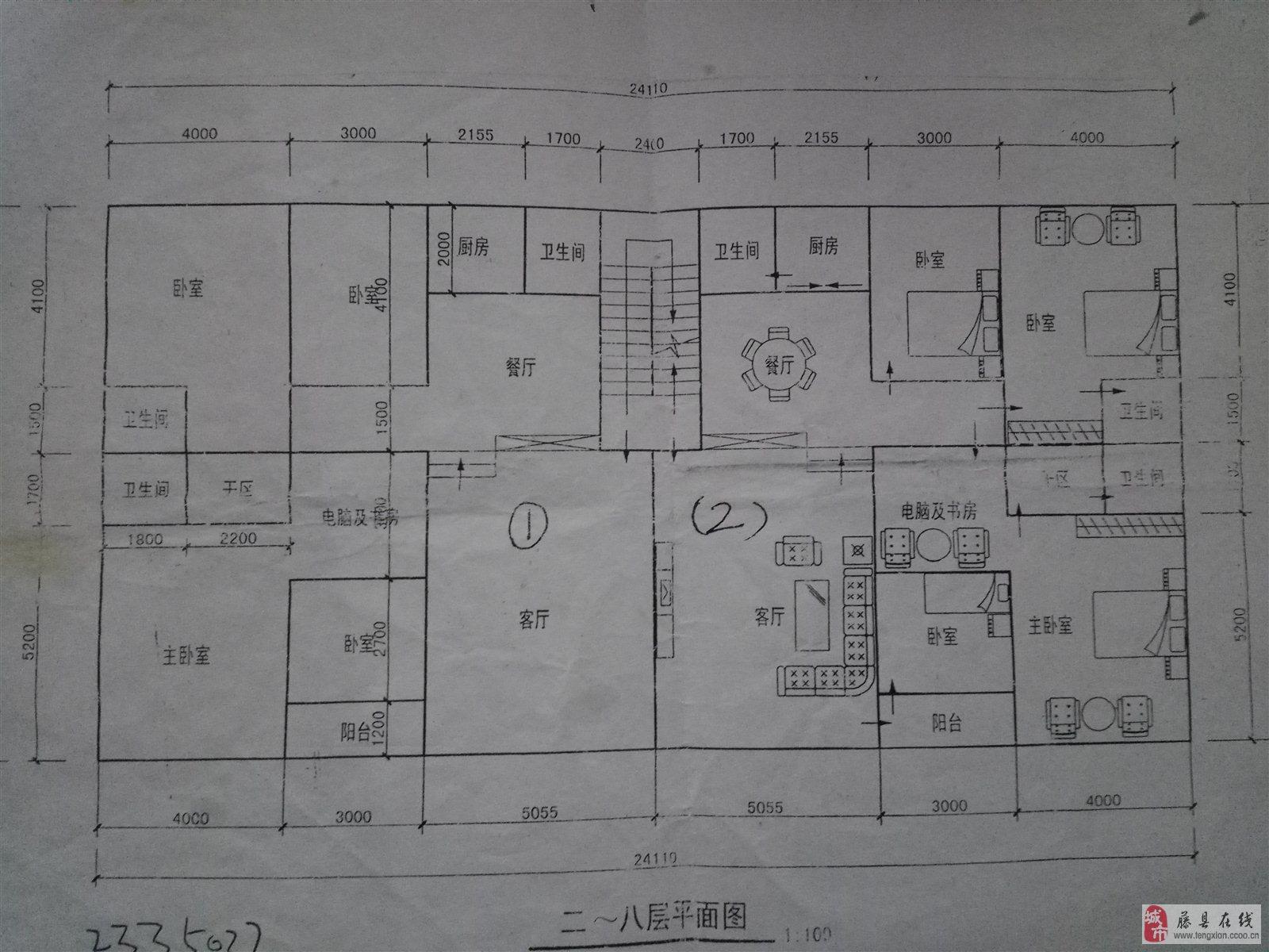 7米宽13米长房屋设计图