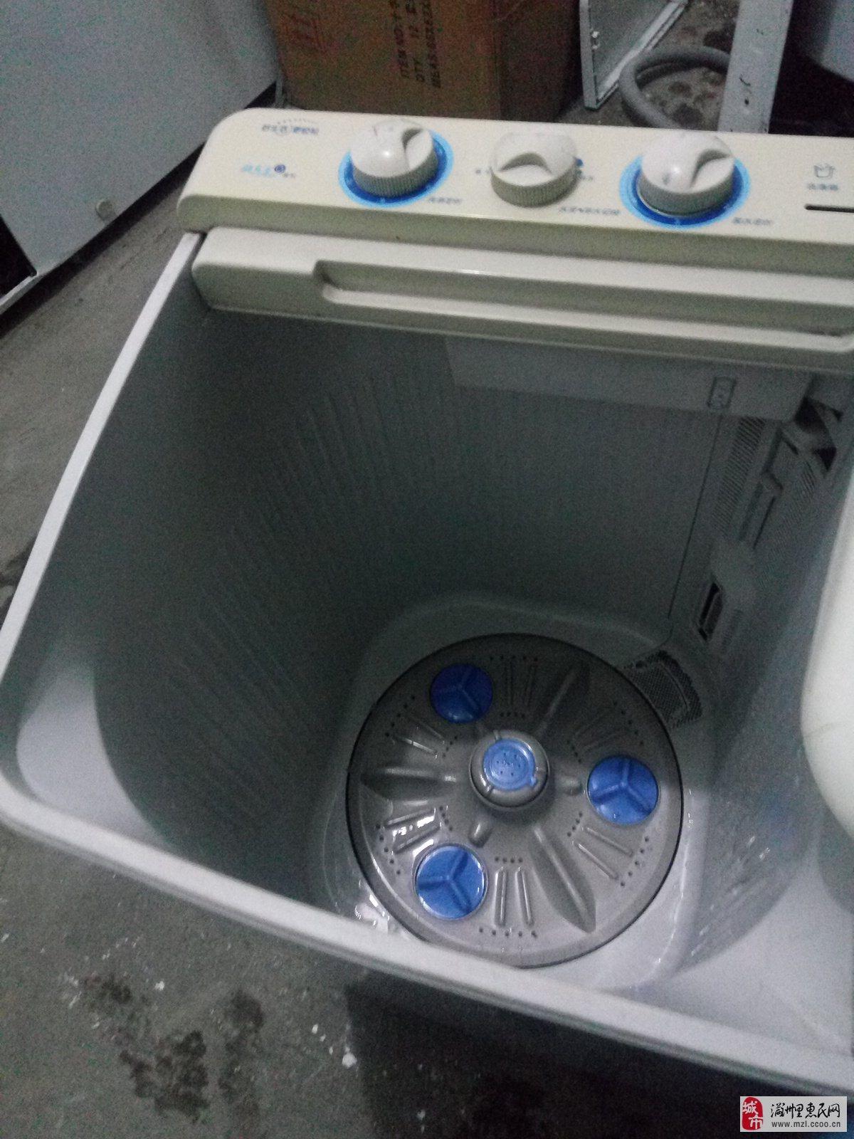 出售:二手荣事达双桶洗衣机.