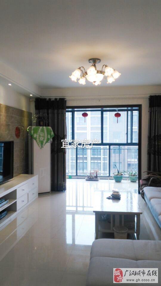 全装帝景国际中庭2套2家具家电房出售
