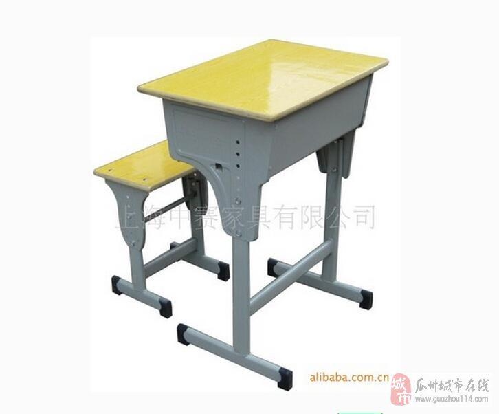 九成新学生用单人单桌课桌椅出售