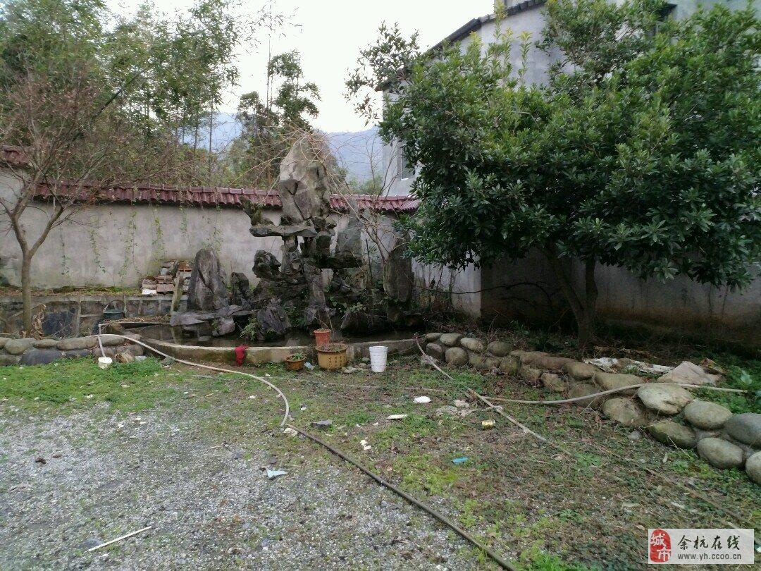 农村别墅围墙贴瓷砖