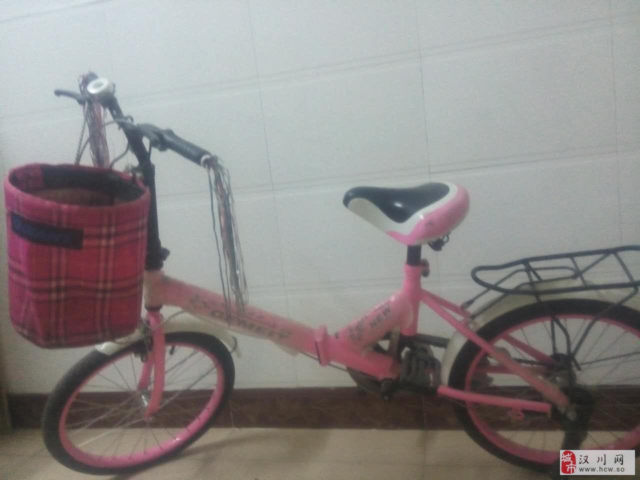 出售9.8层新折叠自行车