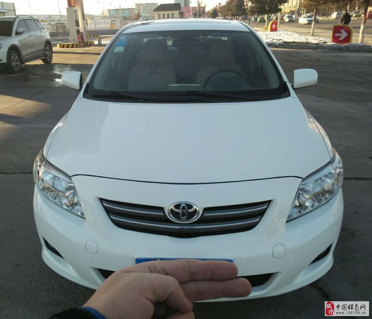 出售:2010年丰田卡罗拉经典自动1.6