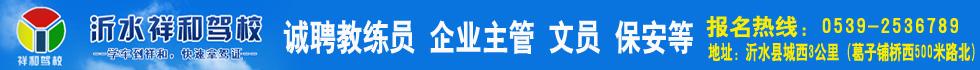 沂水县祥和机动车驾驶员培训有限公司
