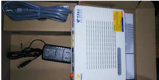 湖北电信光纤猫华为设备几乎全新