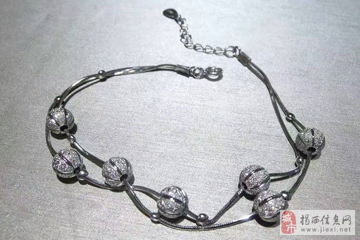 新款小灯笼时尚手链-亚西亚银饰批发,925银饰批发