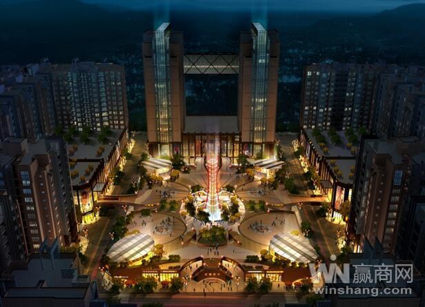 陆良最大综合图腾商业中心即将开业,横店影城等