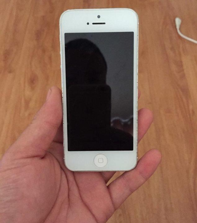 银白色苹果5