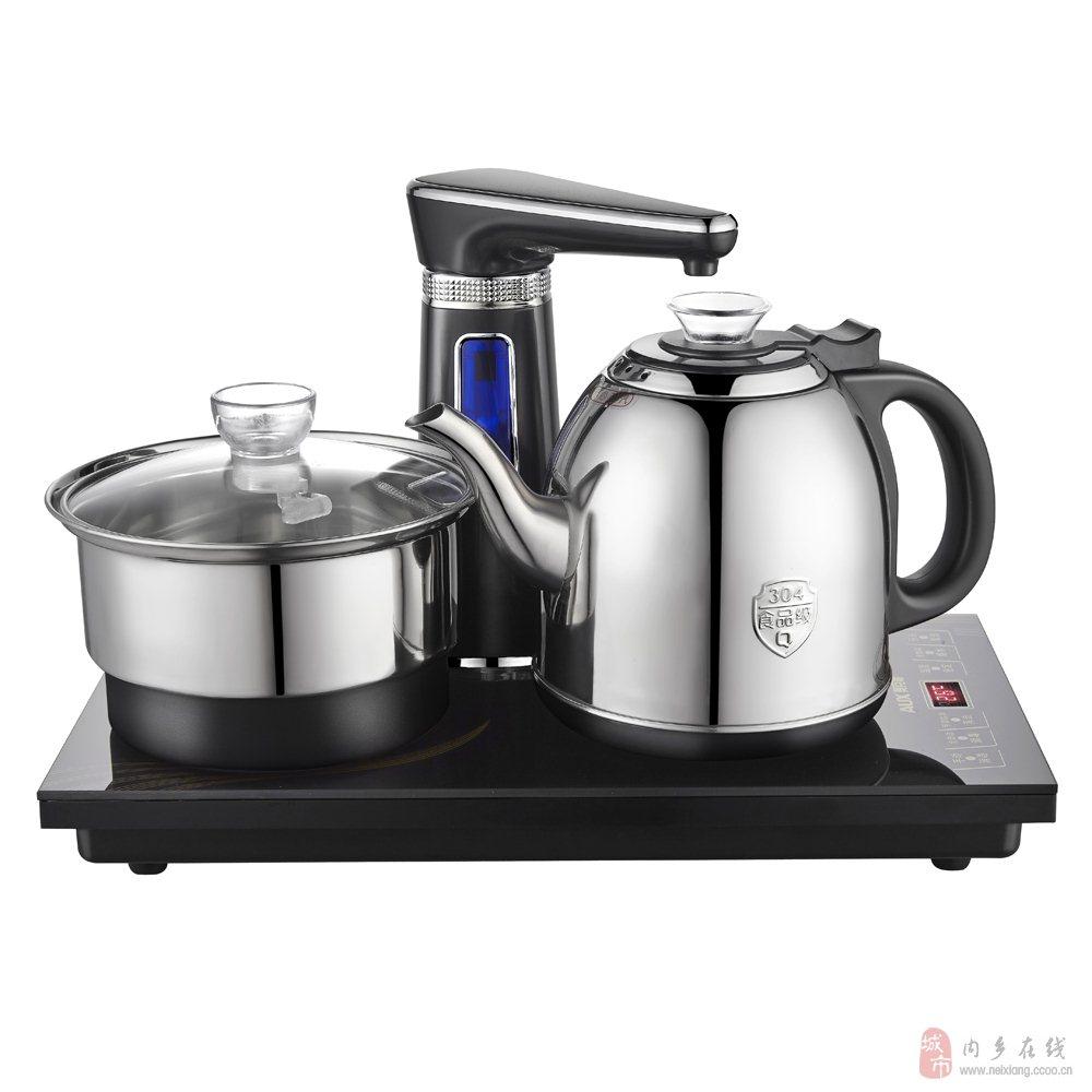 全自动上水电热水壶智能抽水加水嵌入式茶具