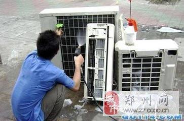 金水区专业空调维修,移机,清洗,加氟,拆装回收空调