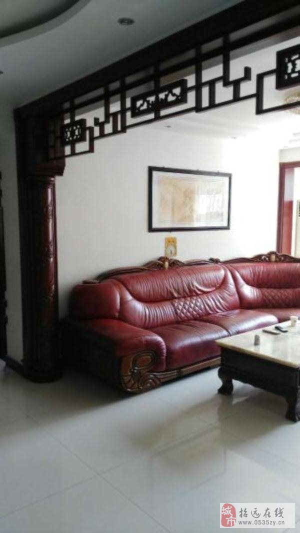 招远出售文化新村4室2厅2卫90万元实木装修带所有家
