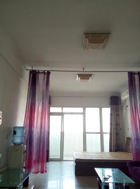中州+北环个人超低价!万龙花园1室精装齐全立住