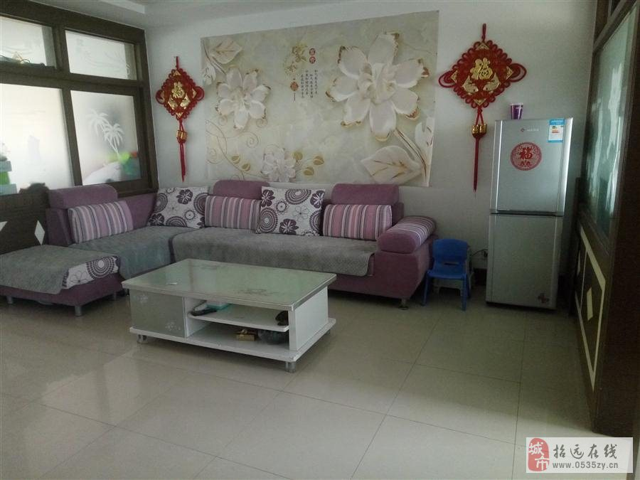 9921招远出售金凤花园6楼带家具家电42万元