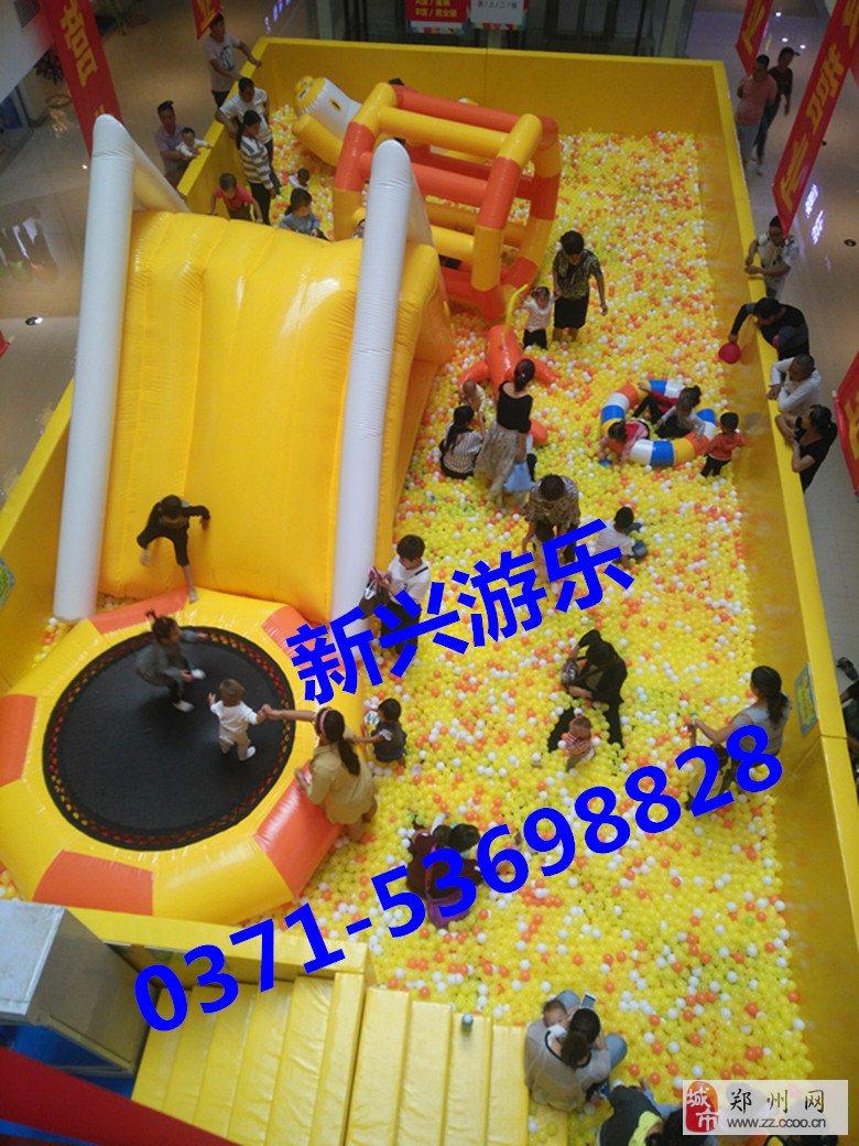 儿童淘气堡设备价格百万球池实力生产厂家河南新兴游乐
