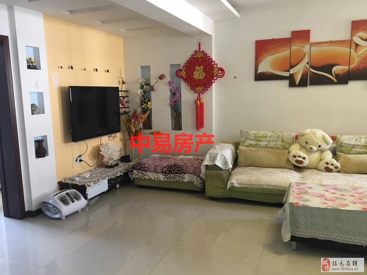 2593招远出售文化新村4楼103平带草屋62万元