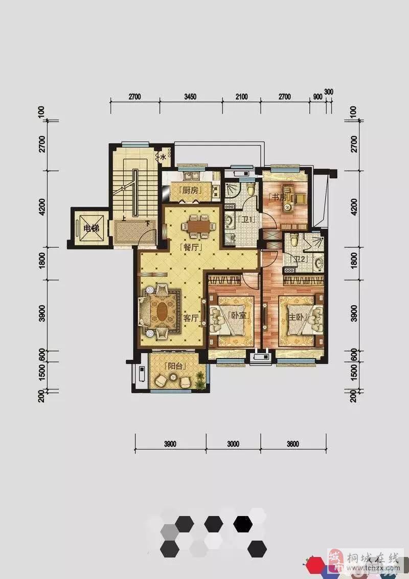 澳门花园3室2厅1卫51.8万元