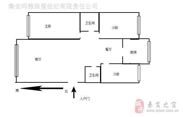 陇上江南精装三室。黄金楼层。