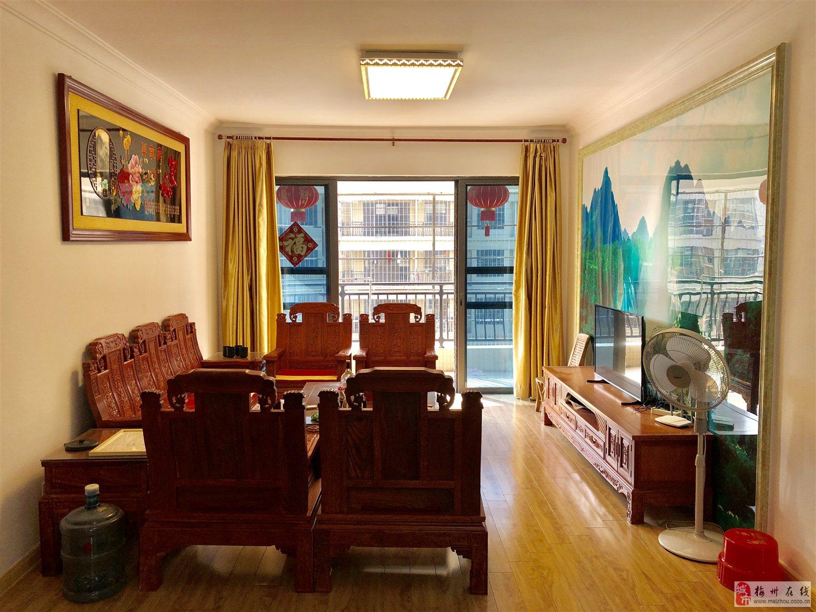 梅江碧桂園小高層電梯7樓3房2廳1衛售79.8萬