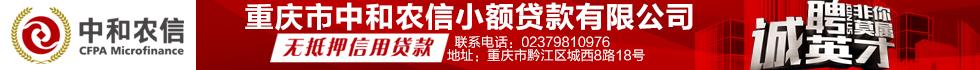 重庆市中和农信小额贷款有限威尼斯人注册