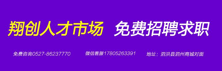 泗洪县翔创人才市场