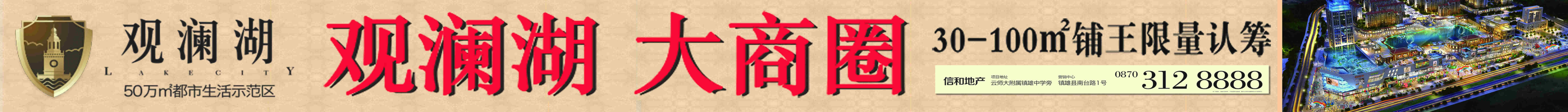 昭通市信和房地产开发有限责任公司镇雄分公司
