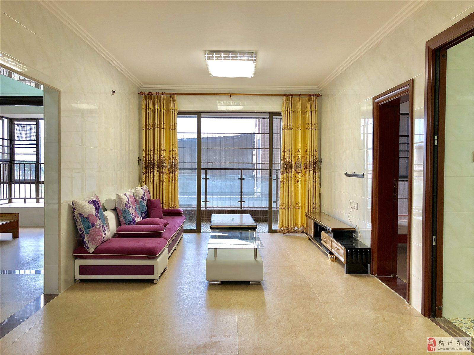 89万8出售奥园半岛3楼3房精装新房未住人