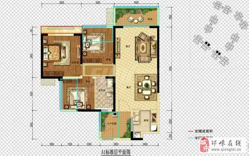 文锦佳苑,清水135平,3室… 惠民小区1楼带花园,90平… 上林郡4期3室2
