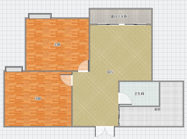 齊心今城,簡單裝修2室,業主急售