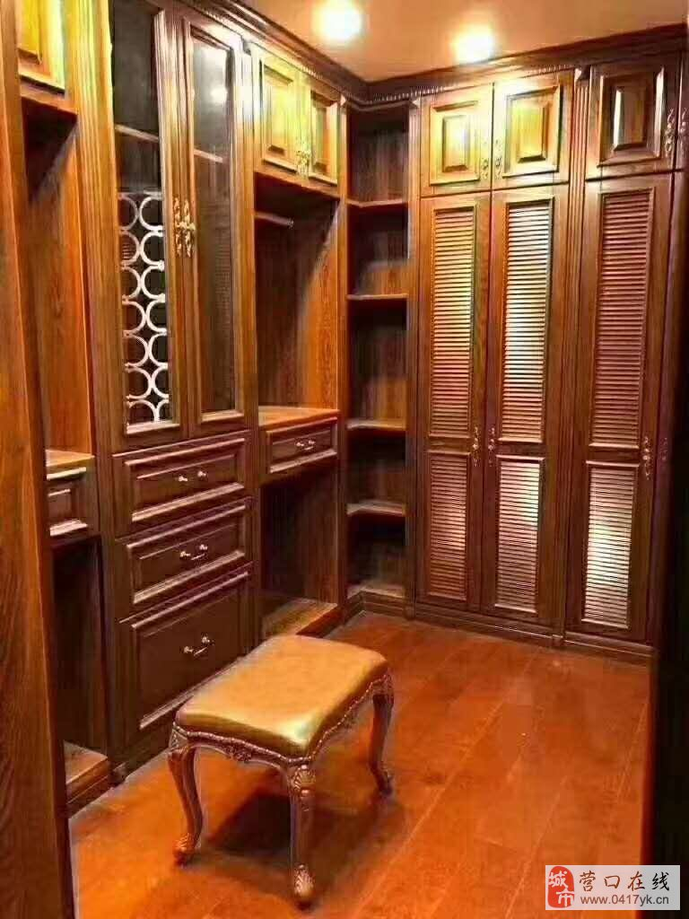天辅圣堡全屋实木定制,高档家具家电。