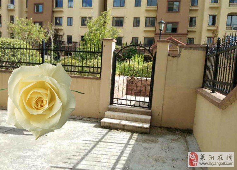 领秀城顶账房共6层花园洋房一楼带花园151平